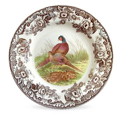 Spode Woodland Assorted Pheasant Dinner Plate $37.00