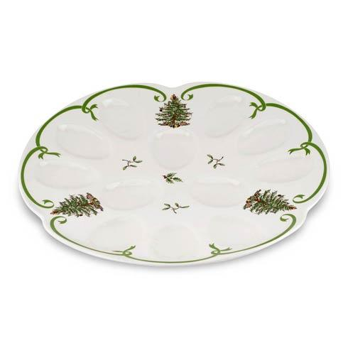Spode Christmas Tree  Serveware/Giftware Devilled Egg Dish $39.99