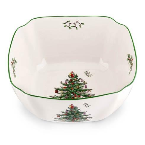 Spode Christmas Tree  Serveware/Giftware Large Square Bowl $39.99