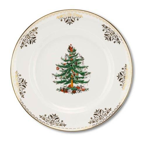 Spode Christmas Tree  Gold Collection Gold Collection Dinner Plate $119.96