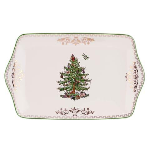 Spode Christmas Tree  Gold Collection Gold Collection Dessert Tray $80.00