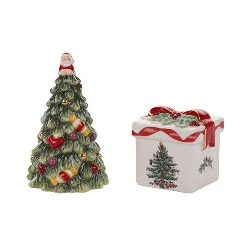 $19.99 Tree & Gift Box Salt & Pepper Set