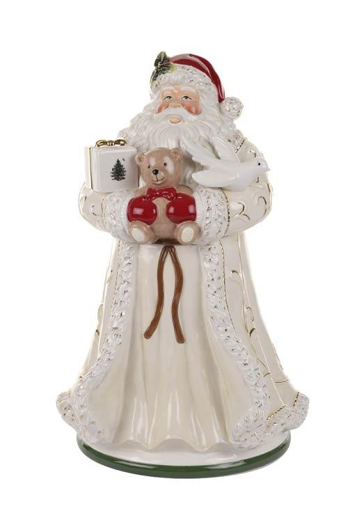 $149.99 Gold Figural Collection Santa Cookie Jar
