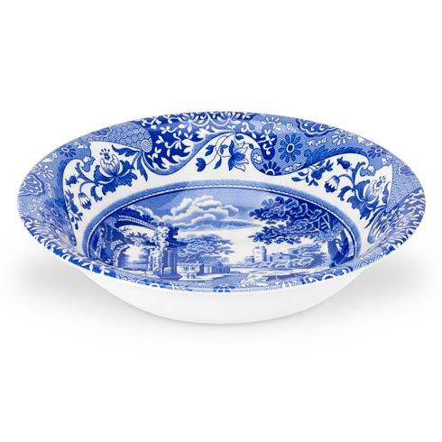 Spode  Blue Italian Set of 4 Ascot Cereal Bowls $77.00