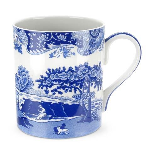 Spode  Blue Italian Set of 4  Mugs $86.00