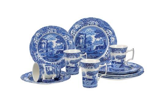Spode  Blue Italian 12-Piece Set $310.00