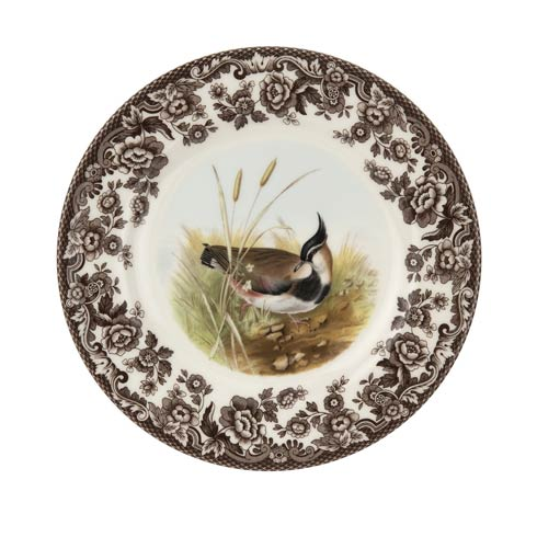 Spode Woodland American Wildlife Collection 8 Inch Salad Plate Lapwing $26.00