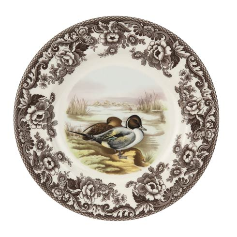 Spode Woodland American Wildlife Collection 10.5 Inch Dinner Plate Pintail $37.00
