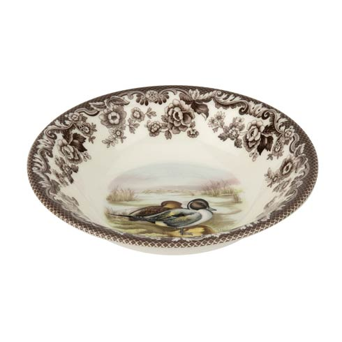 Spode Woodland American Wildlife Collection 8 Inch Cereal Bowl Pintail $36.40