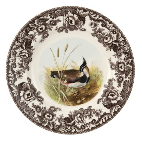 Spode Woodland American Wildlife Collection 10.5 Inch Dinner Plate Lapwing $37.00