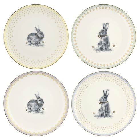 Spode Meadow Lane Dinnerware 8.2 Inch Salad Plate - Set of 4 $39.99