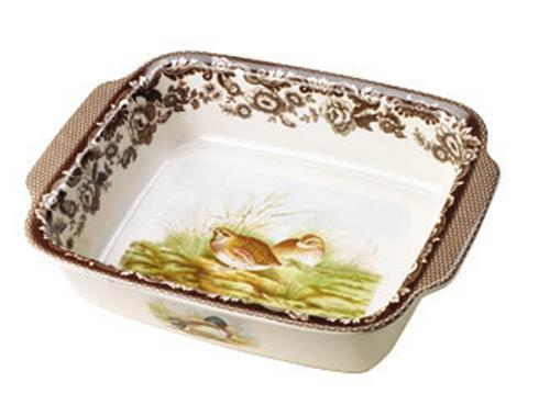 Spode Woodland Assorted Large Quail and Mallard Rectangular Handled Dish $159.60