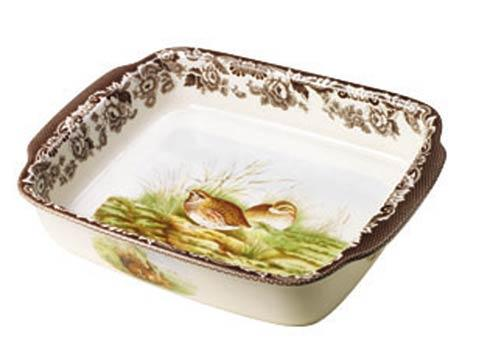 Spode Woodland Assorted Medium Rabbit and Quail Rectangular Handled Dish $116.00