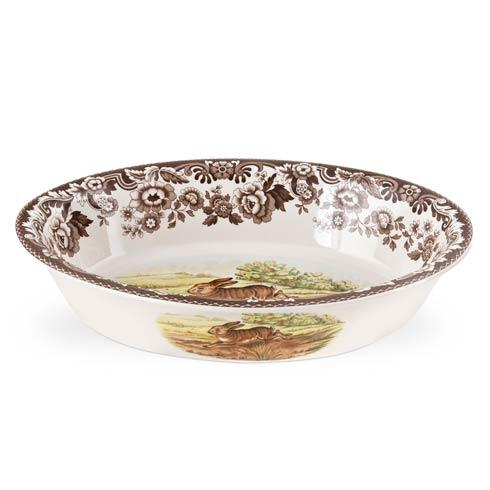 Spode Woodland Assorted Rabbit and Pheasant Oval Rim Dish $100.80