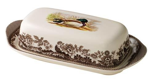 Spode Woodland Assorted Mallard Covered Butter Dish $100.00