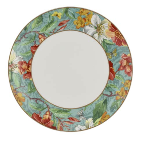 $59.96 8.25 Inch Salad Plate Turquoise - Set of 4