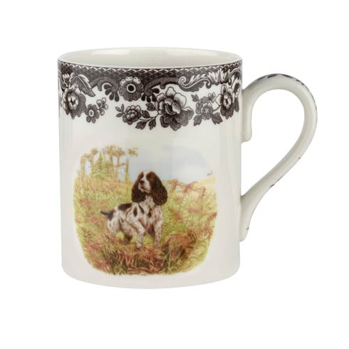 Spode Woodland Hunting Dogs Collection 16 oz Mug English Springer Spaniel $30.00