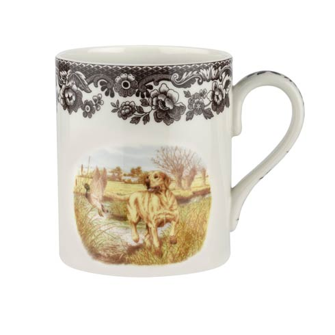 Spode Woodland Hunting Dogs Collection 16 oz Mug Yellow Labrador $30.00