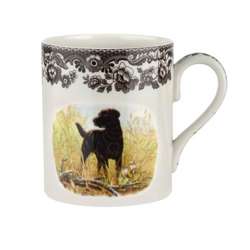 Spode Woodland Hunting Dogs Collection 16 oz Mug Black Labrador $30.00