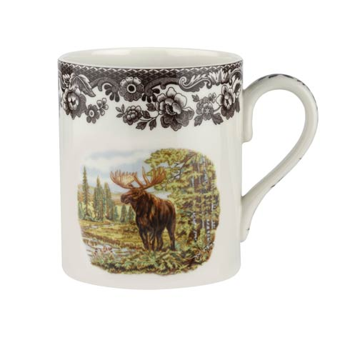 Spode Woodland Majestic Moose Collection 16 oz Mug Moose $30.00
