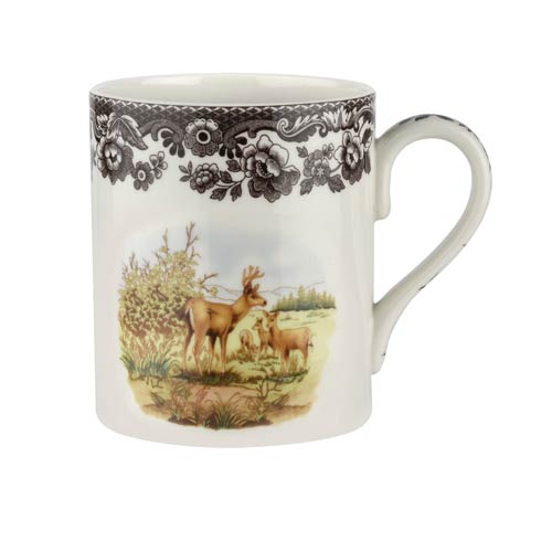 Spode Woodland American Wildlife Collection 16 oz Mug Deer $30.00