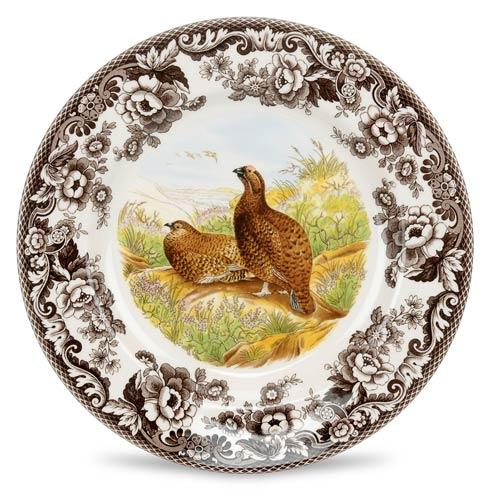 Spode Woodland Assorted Red Grouse Dinner Plate $37.00