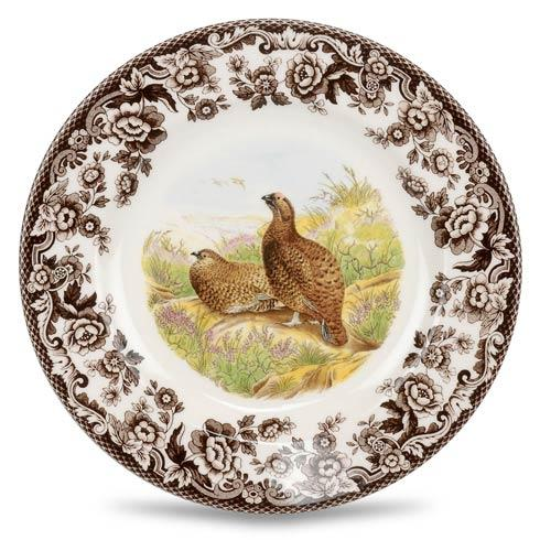 Spode Woodland Assorted Red Grouse Salad Plate $26.00