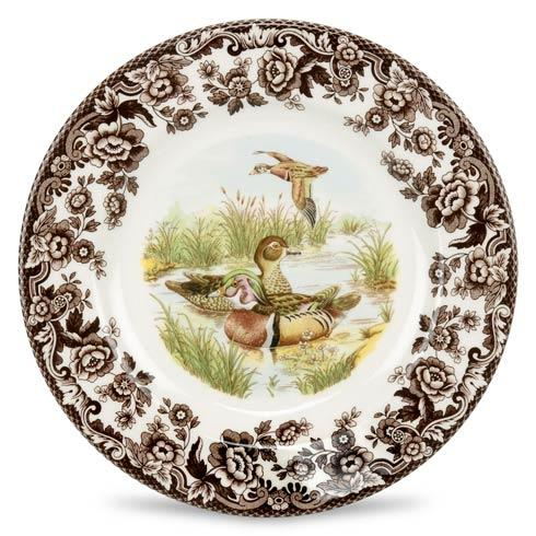 Spode Woodland Assorted Wood Duck Dinner Plate $37.00