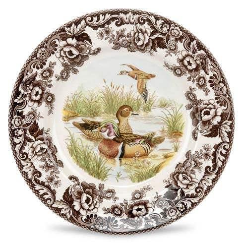 Wood Duck Salad Plate