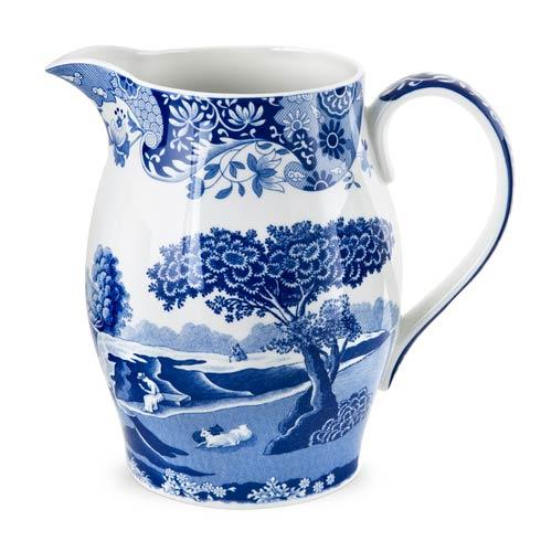 Spode  Blue Italian Pitcher $78.00