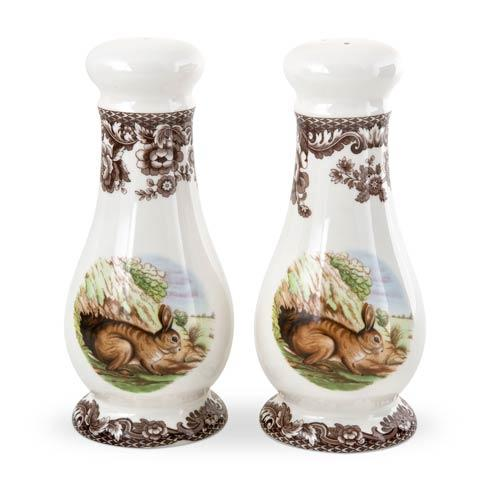 Spode Woodland Rabbit Collection Salt and Pepper Shakers $100.80