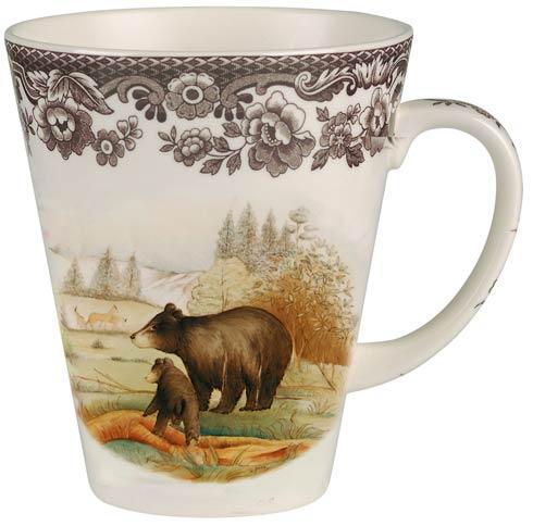 Spode Woodland American Wildlife Collection Black Bear Mug $44.20