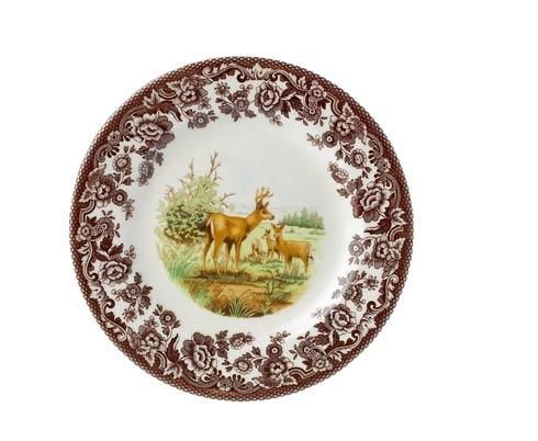 Spode Woodland American Wildlife Collection Mule Deer Salad Plate $26.00