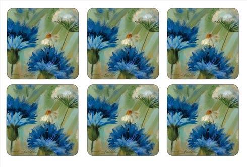$15.00 Fleurs des Champs Coasters - Set of 6