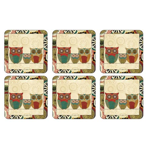 $15.00 Spice Road Coasters - Set of 6