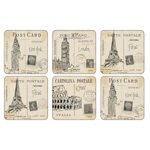Placemats, Coasters, & Trays Scenes and Decorative collection