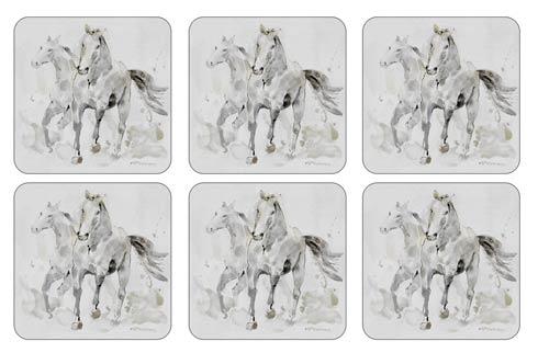 $15.00 Spirited Horses Coasters - Set of 6