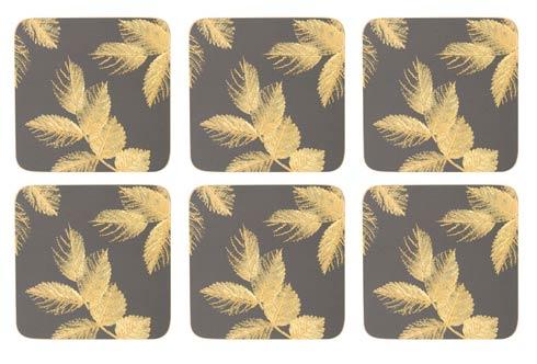 $15.00 Coasters - Set of 6 Dark Grey