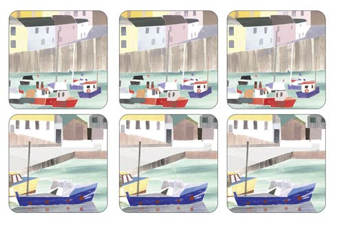 $15.00 Harbour Coasters - Set of 6
