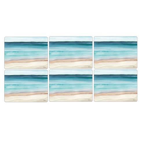 $15.00 Coastal Shore Coasters - Set of 6