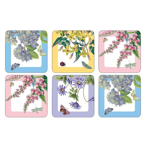 $15.00 Botanic Garden Terrace Coasters - Set of 6