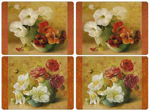$40.00 Floral Offering Placemats - Set of 4