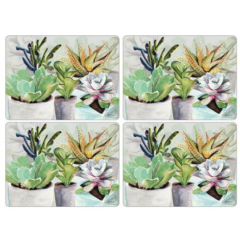$40.00 Succulents Placemats - Set of 4