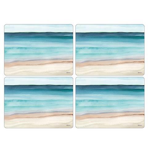 $40.00 Coastal Shore Placemats - Set of 4