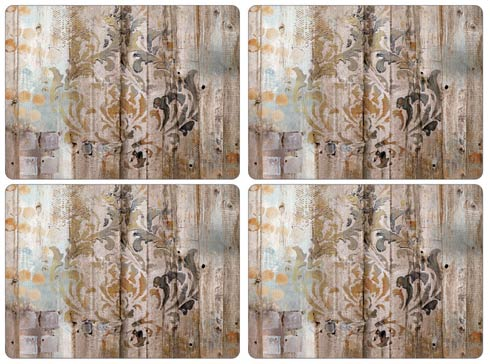 $40.00 Frozen in Time Placemats - Set of 4