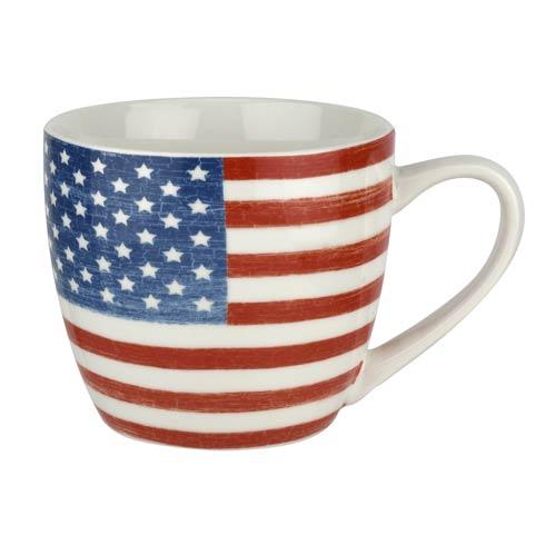 $19.96 American Flag 16 oz Mug set of four