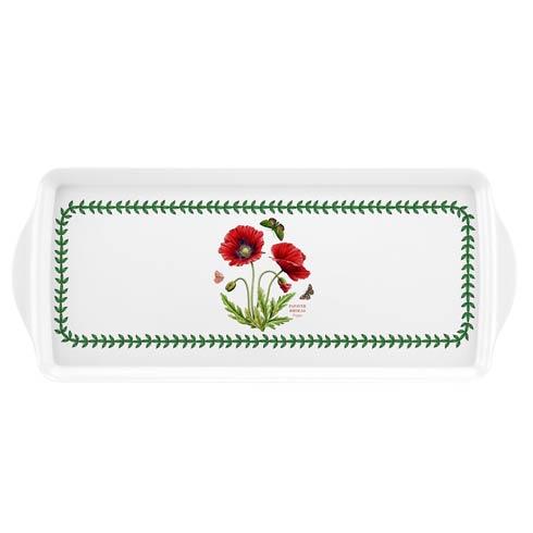 $10.00 Botanic Garden Poppy Melamine Sandwich Tray