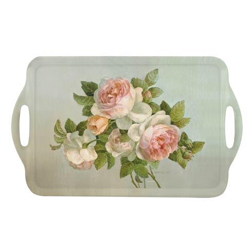 $20.00 Antique Roses Large Melamine Tray