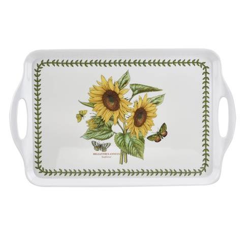 $20.00 Botanic Garden Sunflower Large Melamine Handled Tray