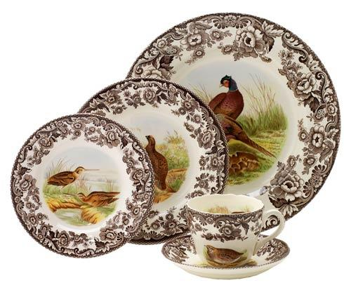 Spode Woodland Assorted 5 piece Place Setting $160.85
